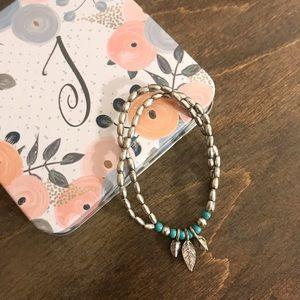 NWOT Feather Bracelet